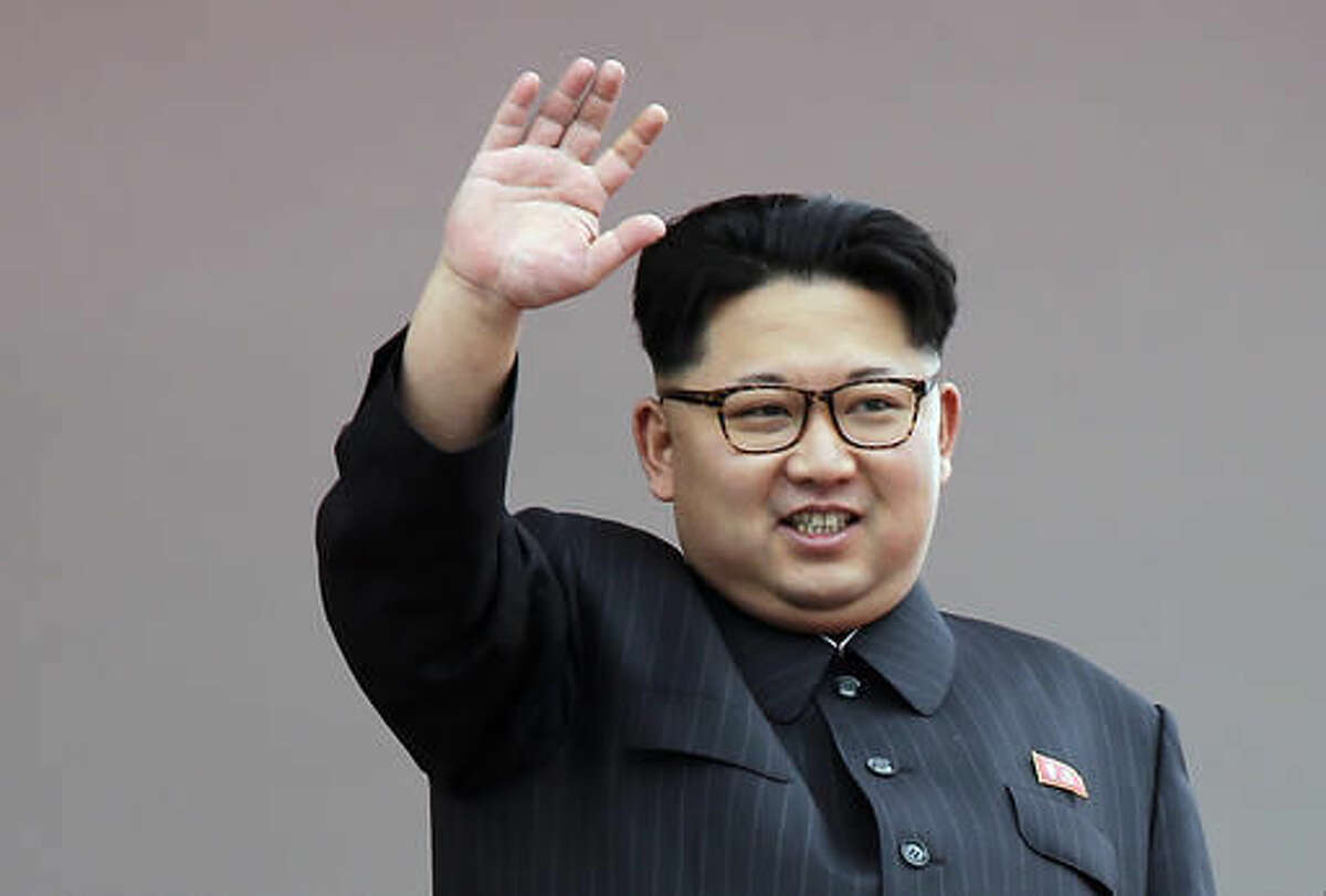 FILE - In this May 10, 2016 file photo, North Korean leader Kim Jong Un waves at parade participants at the Kim Il Sung Square in Pyongyang, North Korea. If North Korea has been a foreign policy headache for Barack Obama's presidency, it threatens to be a migraine for his successor. The next president will likely contend with an adversary able to strike the continental U.S. with a nuclear weapon. Whoever wins the White House in the Nov. 8 election is expected to conduct a review of North Korea policy(AP Photo/Wong Maye-E, File)