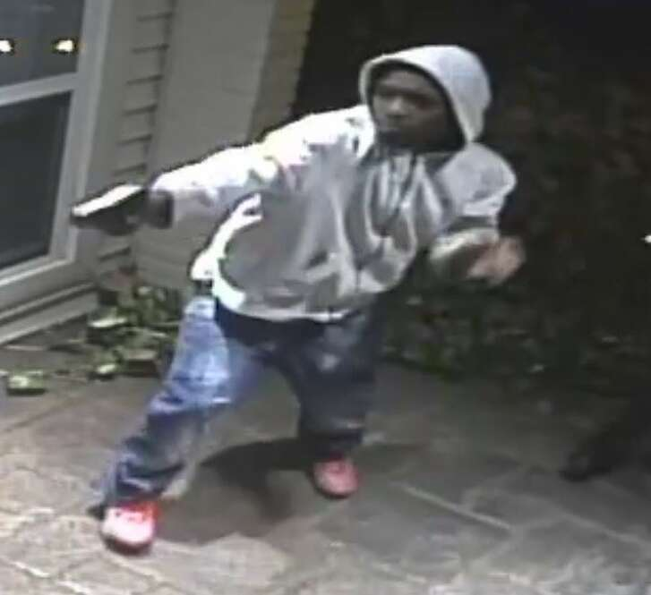 POlice released surveillance images of suspects in a robbery about 8:40 p.m. Nov. 22, 2016 at a home in the 5400 block of Willers Way in southwest Houston. (Houston Police Department)