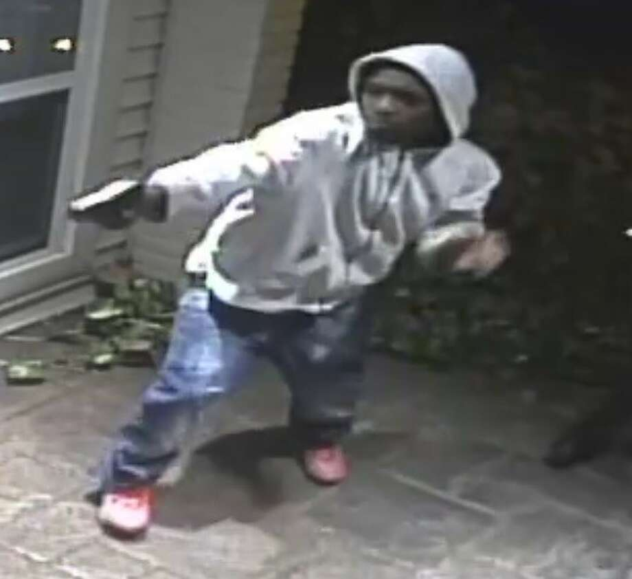 Police released surveillance images of suspects in a robbery about 8:40 p.m. Nov. 22, 2016, at a home in the 5400 block of Willers Way in southwest Houston. (Houston Police Department)
