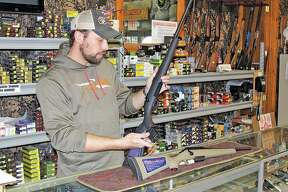 """That's the big magic to this caliber,"" said Randy Brown of Randy's   Hunting Center  . ""That great big bullet with so much energy — it just knocks things flat."""