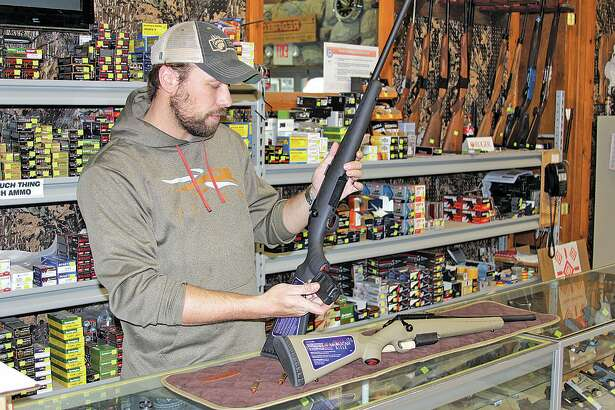 """""""That's the big magic to this caliber,"""" said Randy Brown of Randy's  Hunting Center  . """"That great big bullet with so much energy — it just knocks things flat."""""""