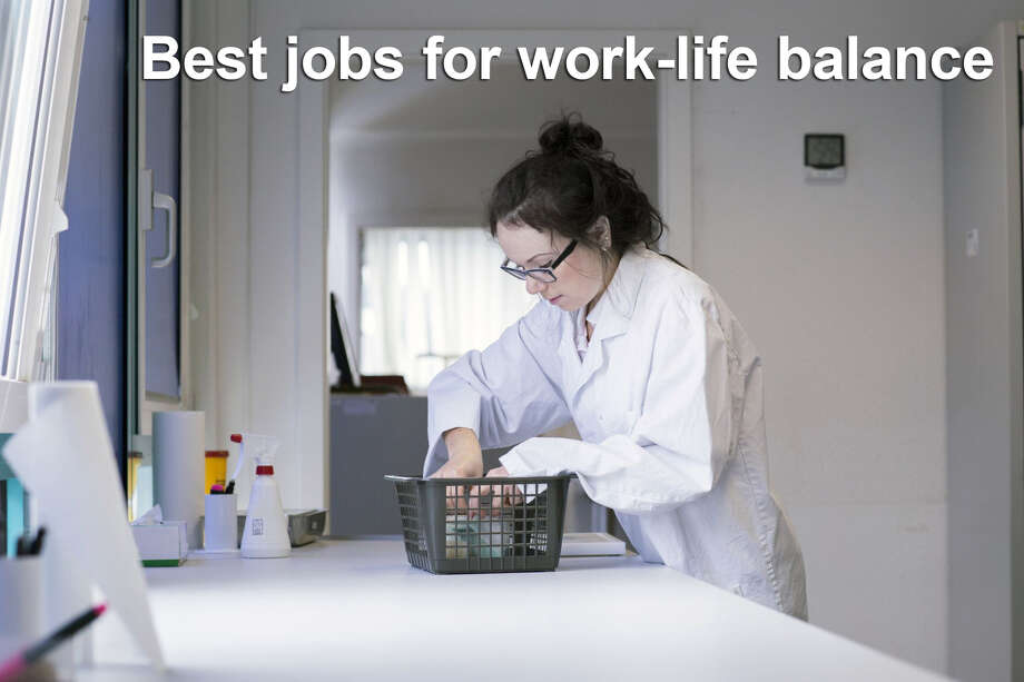 Keep clicking to view the 29 best jobs for work-life balance, according to Glassdoor.  29. Lab assistant  Work-life balance rating: 3.7 Median salary: $28,000 Number of job openings: 1,127 Photo: Getty Images
