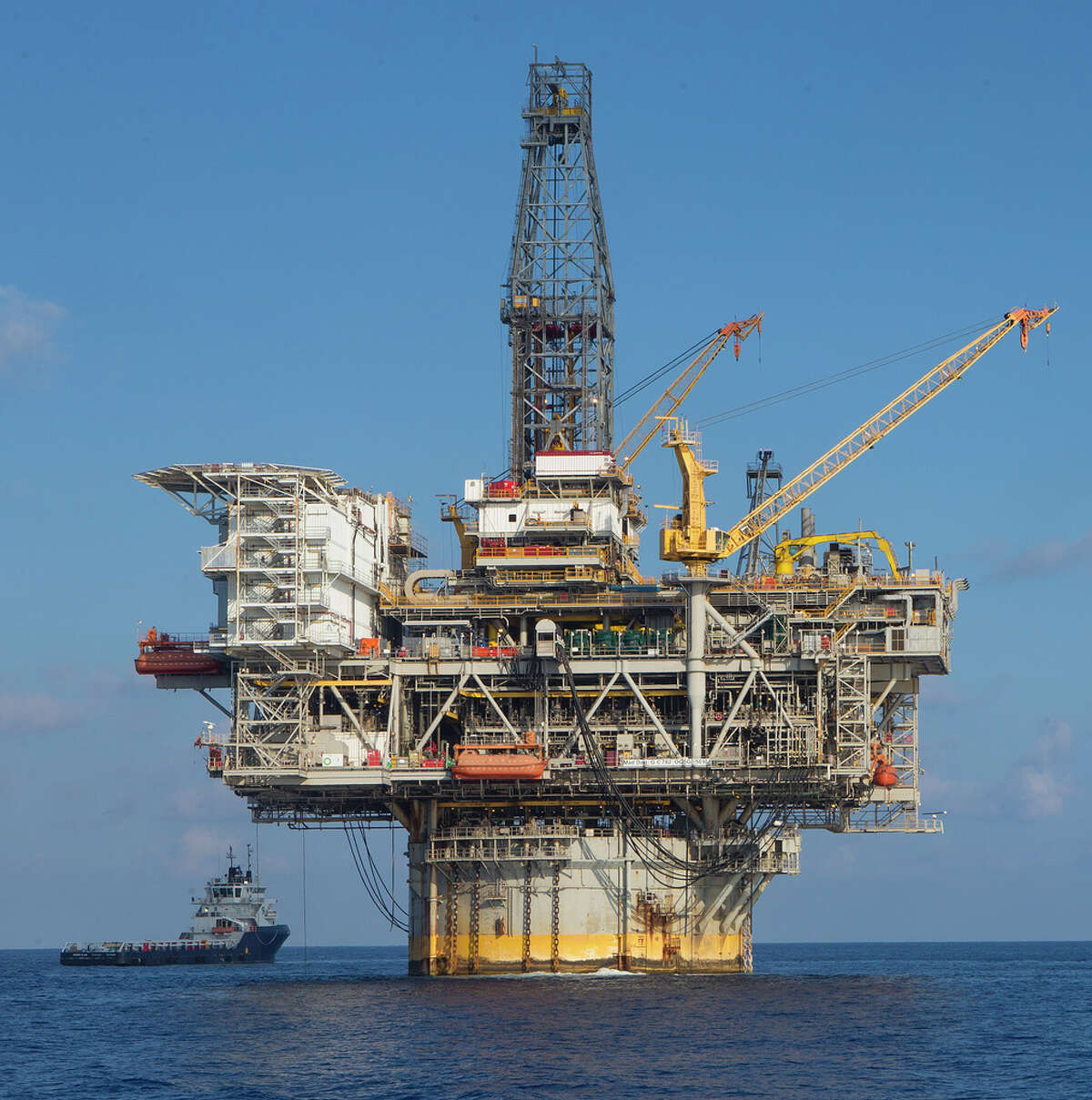 The Mad Dog platform operates in the Gulf of Mexico. (BP)