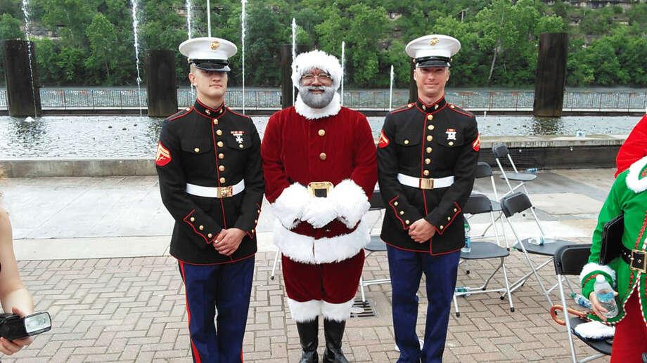 Larry Jefferson, the Mall of America's first black Santa, is a retired U.S. Army veteran. Photo: Handout/Larry Jefferson