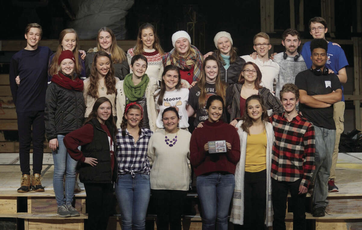 """Cast and crew of """"Almost, Maine"""""""