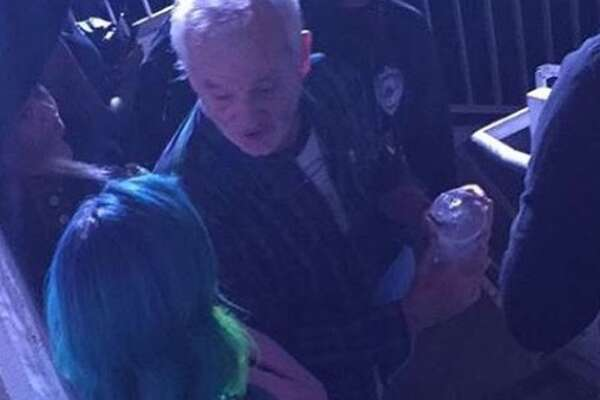 Actor Bill Murray attended the Lupe Fiasco concert in Austin, Texas Nov. 30, 2016.