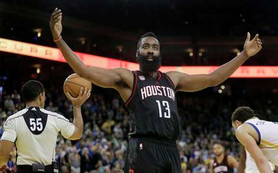 PHOTO: Why don't you love James Harden as much as you should?The Rockets' James Harden is one of the best basketball players on the planet, and he plays right here in Houston, yet he is extremely unappreciated.Browse through the photos to see all the reasons why you should love James Harden more. Photo: Ben Margot