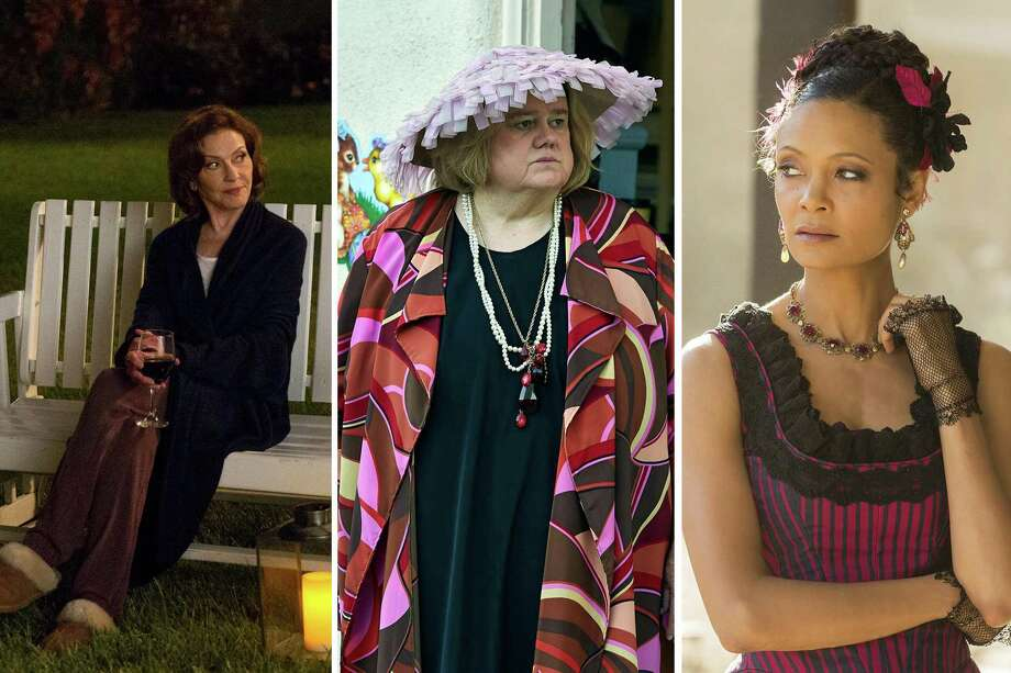 Kelly Bishop, Gilmore Girls: A Year in the Life, Louis Anderson, Baskets, Thandie Newton, WestWorld | Photo Credits: Saeed Adyani/Netflix, Ben Cohen/FX, HBO