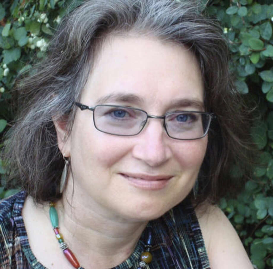 This undated photo provided by Copper Canyon Press shows poet and essayist, Lucia Perillo. Perillo, an award-winning author and Pulitzer Prize finalist, has died in Olympia, Wash., at the age of 58. The publishing company Copper Canyon Press reported Sunday, Oct. 23, 2016, that Perillo passed away Oct. 16, in Olympia. The cause of her death was not immediately known. (James Rudy/Copper Canyon Press via AP)