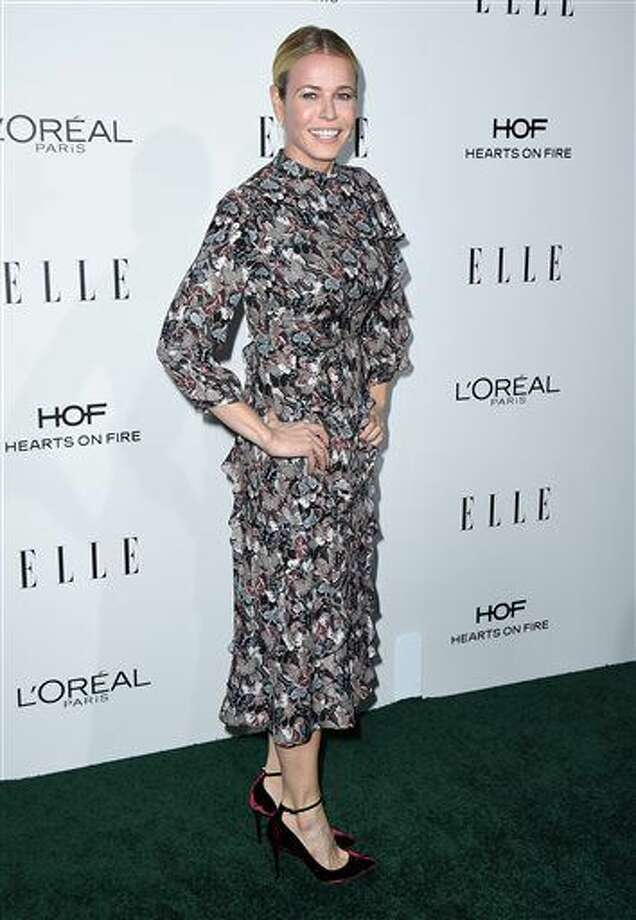 Chelsea Handler arrives at the 23rd annual ELLE Women in Hollywood Awards at the Four Season Hotel on Monday, Oct. 24, 2016, in Los Angeles. (Photo by Jordan Strauss/Invision/AP)
