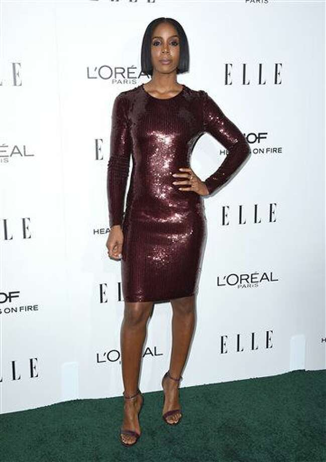 Kelly Rowland arrives at the 23rd annual ELLE Women in Hollywood Awards at the Four Season Hotel on Monday, Oct. 24, 2016, in Los Angeles. (Photo by Jordan Strauss/Invision/AP)