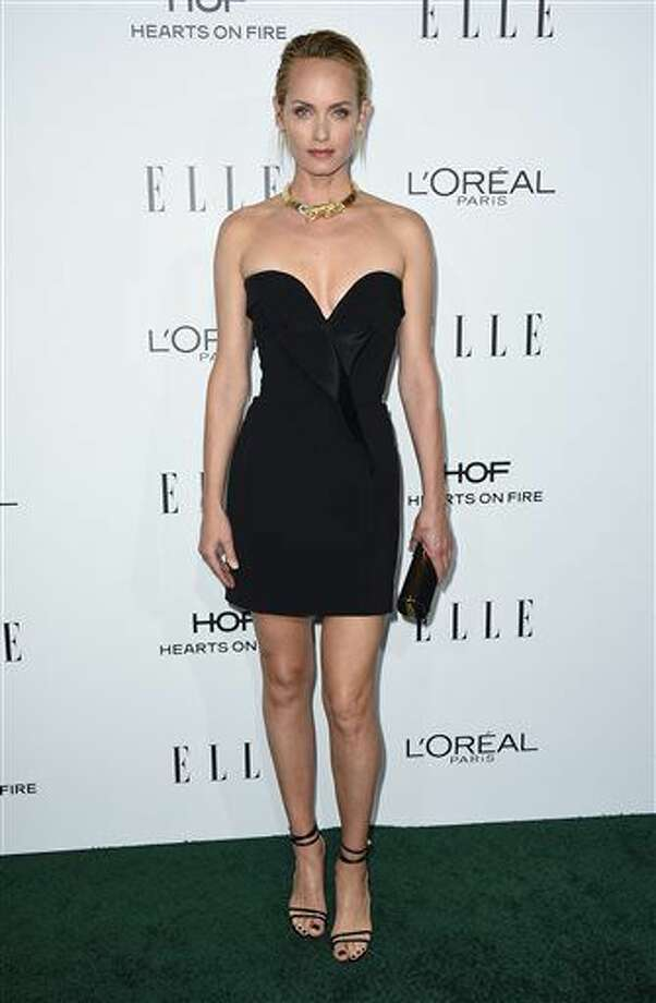 Amber Valletta arrives at the 23rd annual ELLE Women in Hollywood Awards at the Four Season Hotel on Monday, Oct. 24, 2016, in Los Angeles. (Photo by Jordan Strauss/Invision/AP)