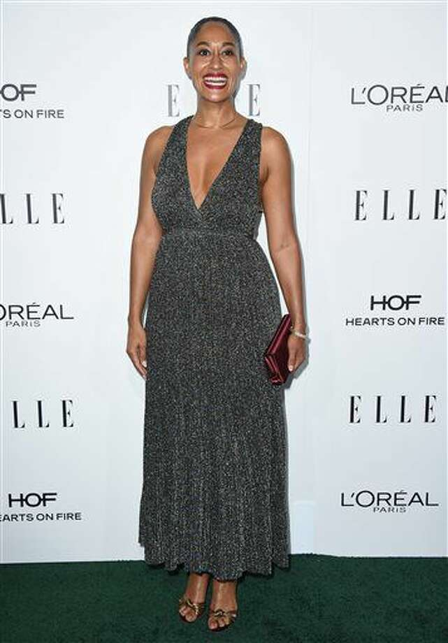 Tracee Ellis Ross arrives at the 23rd annual ELLE Women in Hollywood Awards at the Four Season Hotel on Monday, Oct. 24, 2016, in Los Angeles. (Photo by Jordan Strauss/Invision/AP)
