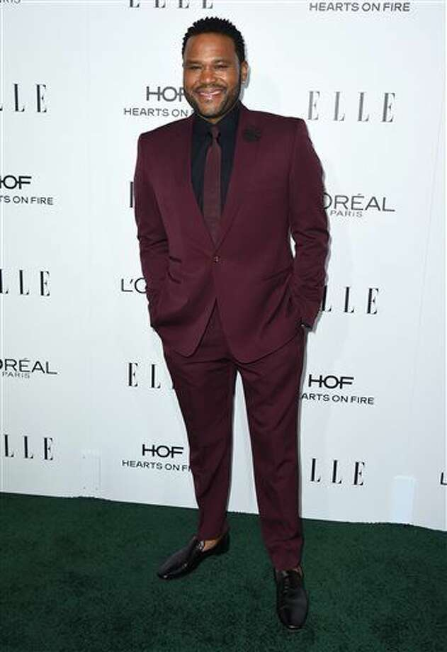 Anthony Anderson arrives at the 23rd annual ELLE Women in Hollywood Awards at the Four Season Hotel on Monday, Oct. 24, 2016, in Los Angeles. (Photo by Jordan Strauss/Invision/AP)