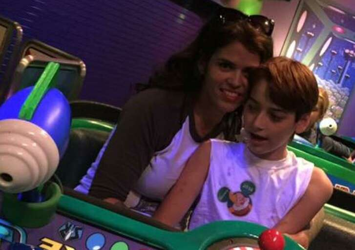 Denise Stroppe of Pleasanton is running the 2016 Rock 'n' Roll San Antonio Marathon for her 15-year-old son, Anthony, who has Angelman Syndrome.