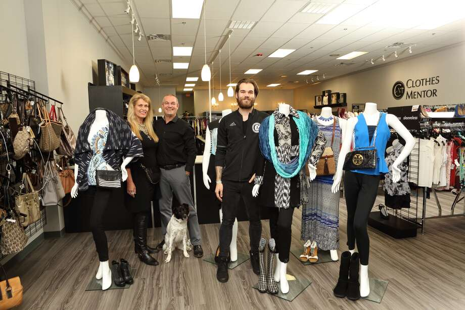 Pieter, Esther and Oscar de Smidt are opening a Clothes Mentor locaton in Sugar Land. Photo courtesy of UpClose magazine.