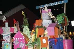 The city transformed into Whoville for the annual Bad Axe Lighted Christmas Parade.