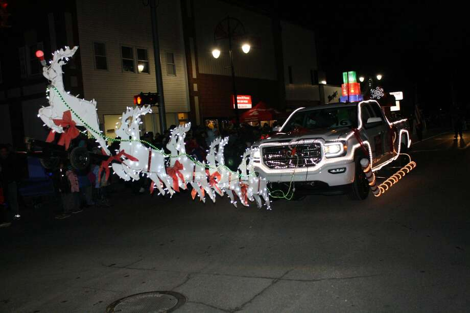 The city transformed into Whoville for the annual Bad Axe Lighted Christmas Parade. Photo: Rich Harp/For The Tribune