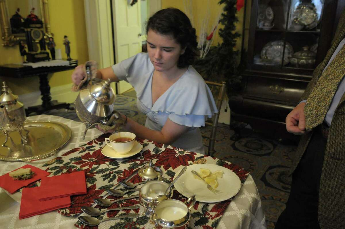 Have holiday tea Dec. 10 at The Ten Broeck, Albany's 18th-century mansion in Arbor Hill, as part of its slate of holiday events. (Times Union Archive) ORG XMIT: MER2016111612022261