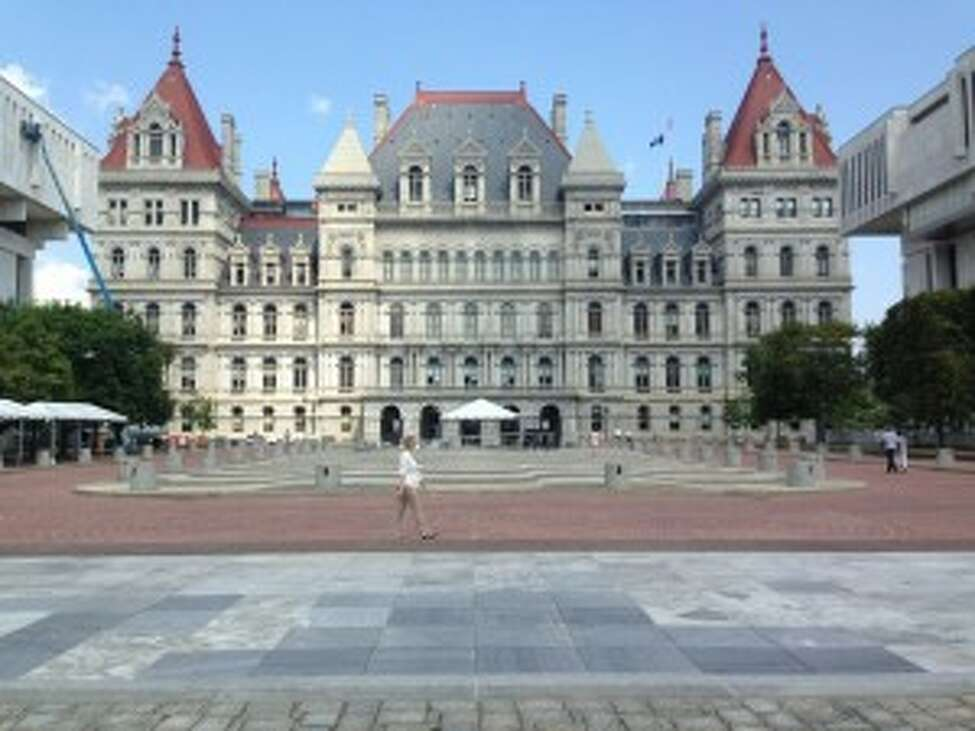 The New York State Capitol in Albany, N.Y. (Matthew Hamilton/Times Union)