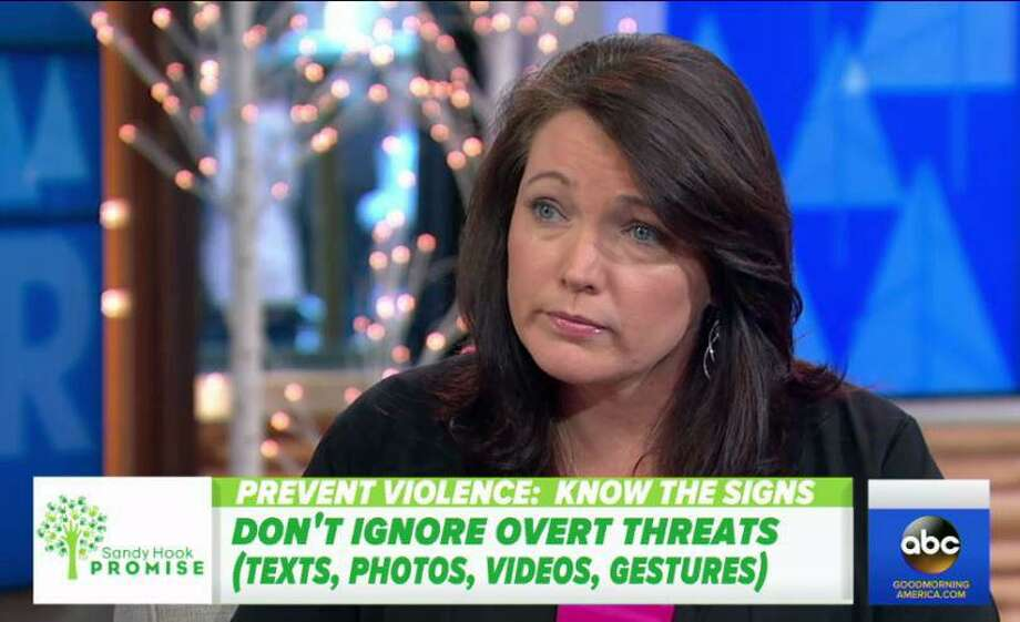 Nicole Hockley, co-founder of Sandy Hook Promise Photo: / Good Morning America