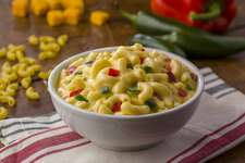 Luby's will sell its original and jalapeno version of its Mac and Cheeese at H-E-B stores in Texas.