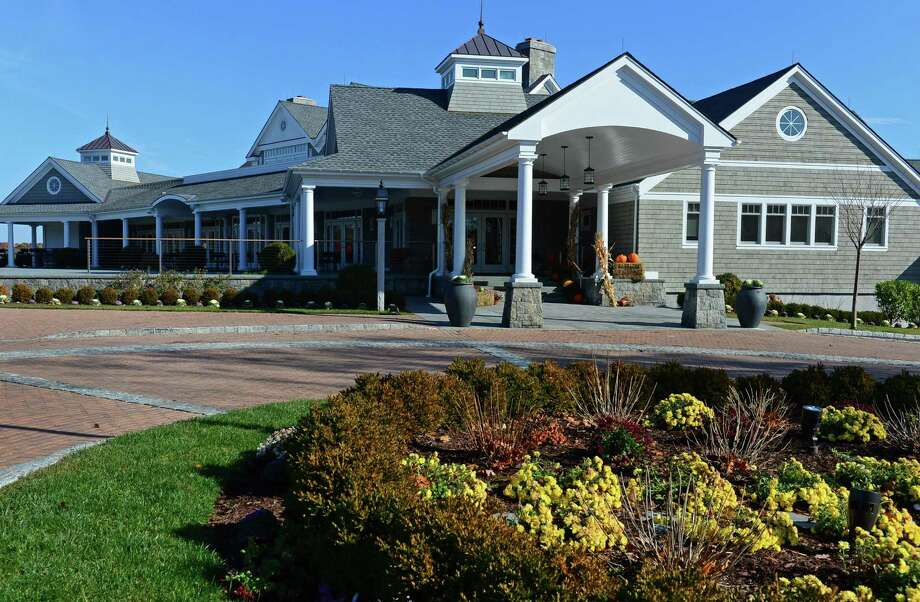 Shorehaven Golf Club's new main clubhouse in Norwalk, Conn. which was designed by KG+D Architects pictured Wednesday, November 15, 2016. Shorehaven is attributing the rebuild to a resurgence in membership and related bookings. Photo: Erik Trautmann / Hearst Connecticut Media / Norwalk Hour