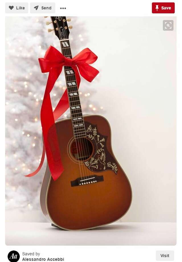 You probably asked Santa for a guitar so you could learn play like your favorite country singers, or your granddaddy.Photo: Pinterest Photo: Pinterest