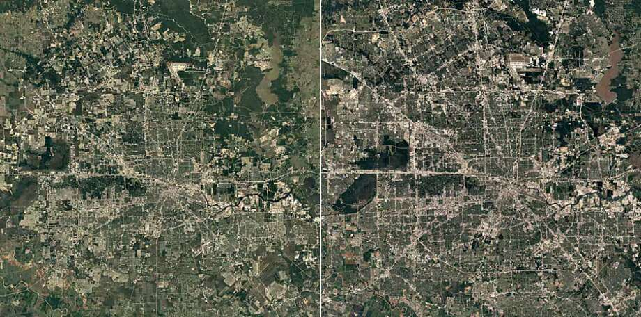The city of Houston has experienced a huge boom over the last few decades and the growth isn't expected to stop as Fort Bend County's population continues to grow. Continue clicking to see the Google timelapse of how Texas cities have changed over 30 years.