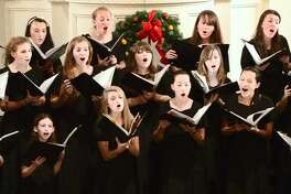 "A ""New England musical winter wonderland"" is promised at the New Haven Symphony Orchestra's ""Holiday Extravaganza,"" under the baton of Chelsea Tipton, on Sunday, Dec. 11, in Shelton. Also performing will be the Elm City Girls' Choir, above."