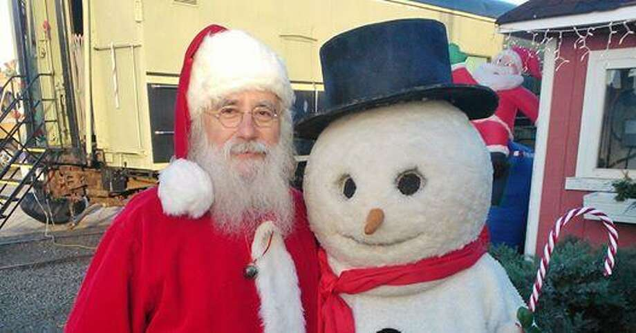 The Danbury Railway Museum's Santa's Railyard 2016 is an express to Santa's Toyland on Saturdays and Sundays, Dec. 10 and 11, and 17 and 18. Photo: Danbury Railway Museum / Contributed Photo