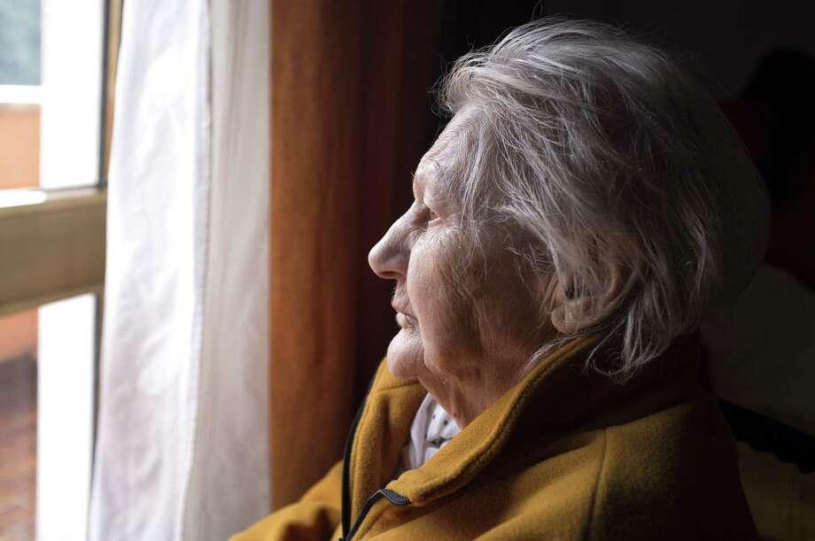 AloneThe Pew Research Center says that 32 percent of women 65 to 84 live alone. Photo: Giorgio Calderato/Fotolia, HO / TNS