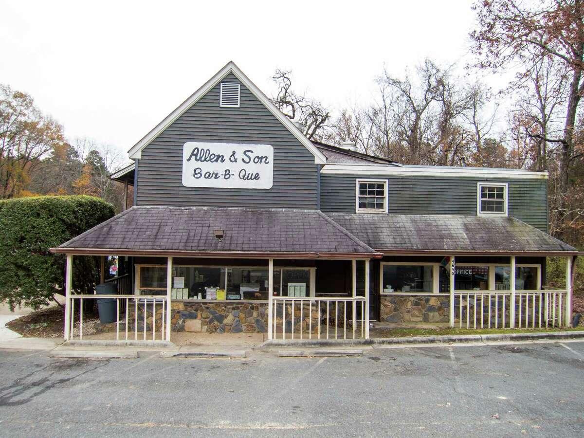 Allen & Son Bar-B-Que in Pittsboro, N.C.