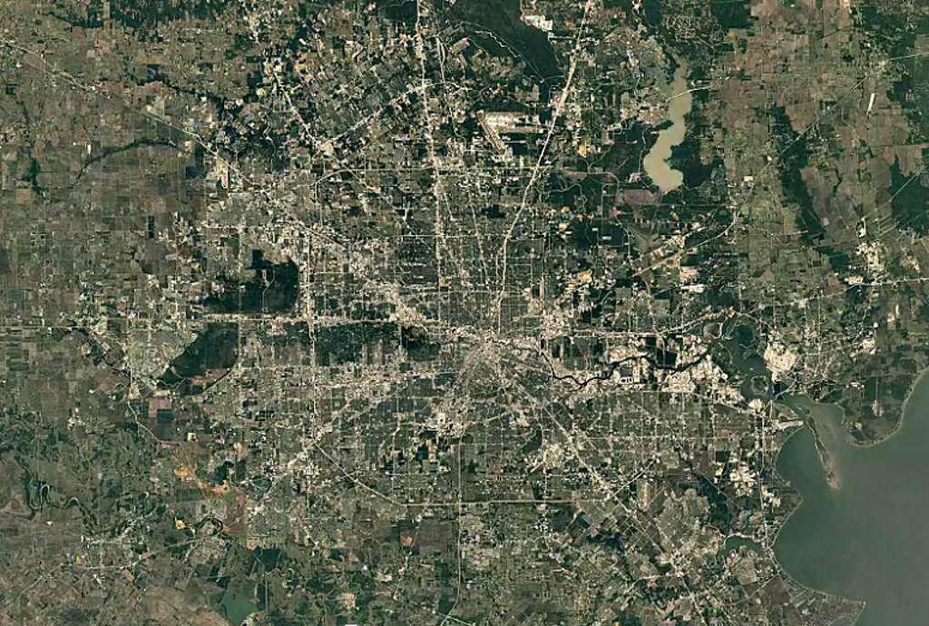houston 2000 photo google earth timelapse