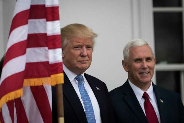 """President-elect Donald Trump and Vice President-elect Mike Pence speak to the media about a cast member of the musical """"Hamilton"""" who read a message to Pence after the show. Trump demanded an apology, but a reader says it is Trump who should apologize."""