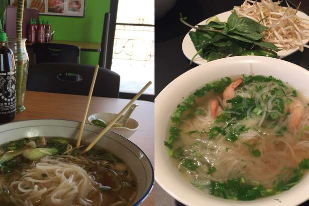 Pho Street, left, and I Love Pho have recently opened in Midland.
