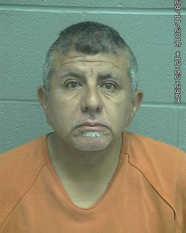 Adrian Gomez Martinez, 51, was arrested Wednesday after allegedly assaulting and stalking a woman, according to court documents. Photo: Midland County Sheriff's Office