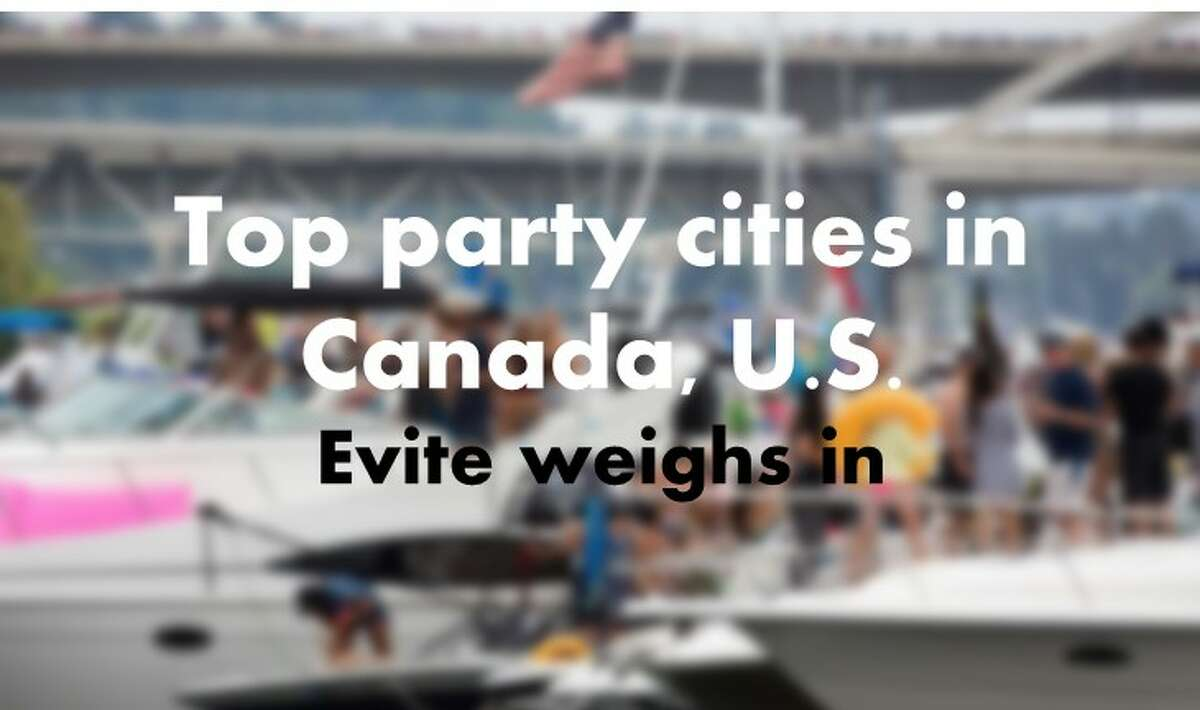 Event organizing website Evite listed the top party cities in the United States and Canada based on the registered events with the platform. Seattle ranks quite highly. Check out where we land.