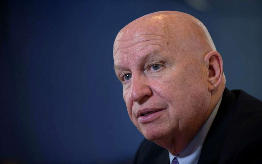 House Ways and Means Committee Chairman Rep. Kevin Brady, R-Texas., speaks during an interview with The Associated Press on Capitol Hill in Washington, Thursday, Dec. 1, 2016. (AP Photo/Susan Walsh) Photo: Susan Walsh, STF / Copyright 2016 The Associated Press. All rights reserved.