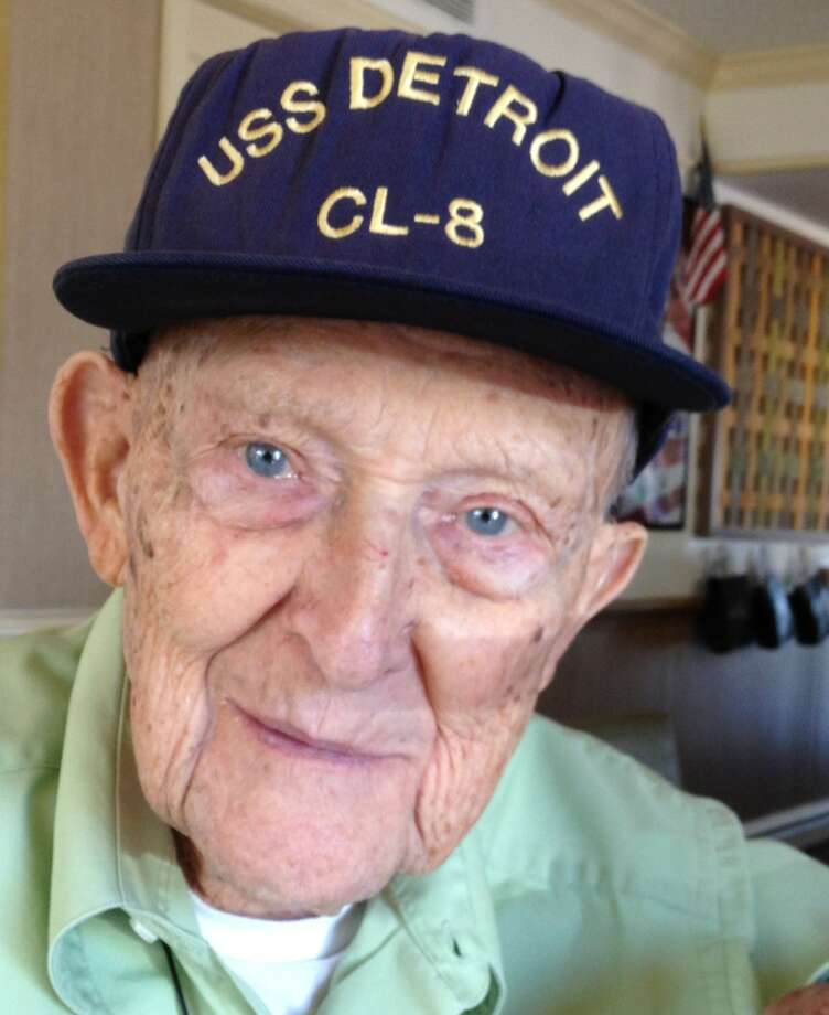 Gilbert Meyer, 93, will be attending 75th anniversary ceremonies at Pearl Harbor next week. Photo: Joe Holley