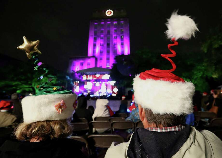 It's back! >>>See where else to celebrate the holidays in the Houston area.  Photo: Yi-Chin Lee, Houston Chronicle / © 2016  Houston Chronicle