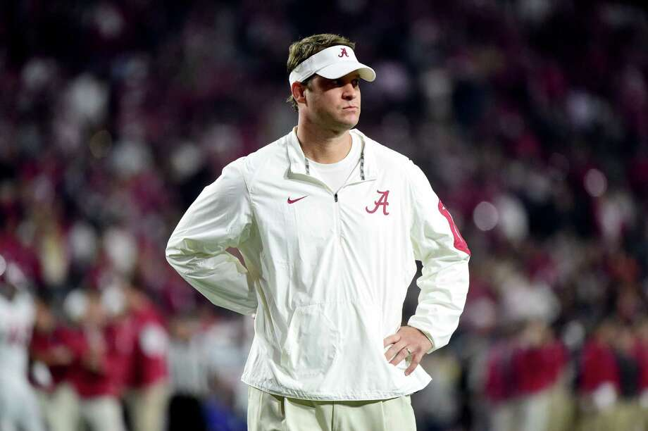 Lane Kiffin has drawn praise for developing a spread look for Alabama's offense, which is averaging 39.4 points per game in the Tide's undefeated season. Photo: Harry How, Staff / 2016 Getty Images