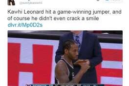 Internet reacts to Kawhi Leonard's game-winner.