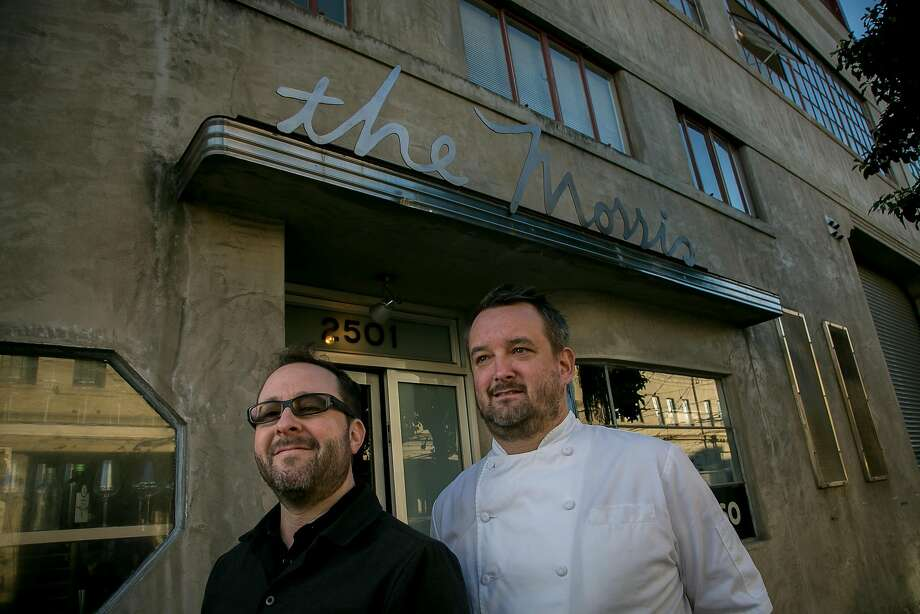Owner Paul Einbund and chef Gavin Schmidt of the Morris in San Francisco, Calif. are seen on December 2nd, 2016. Photo: John Storey, Special To The Chronicle