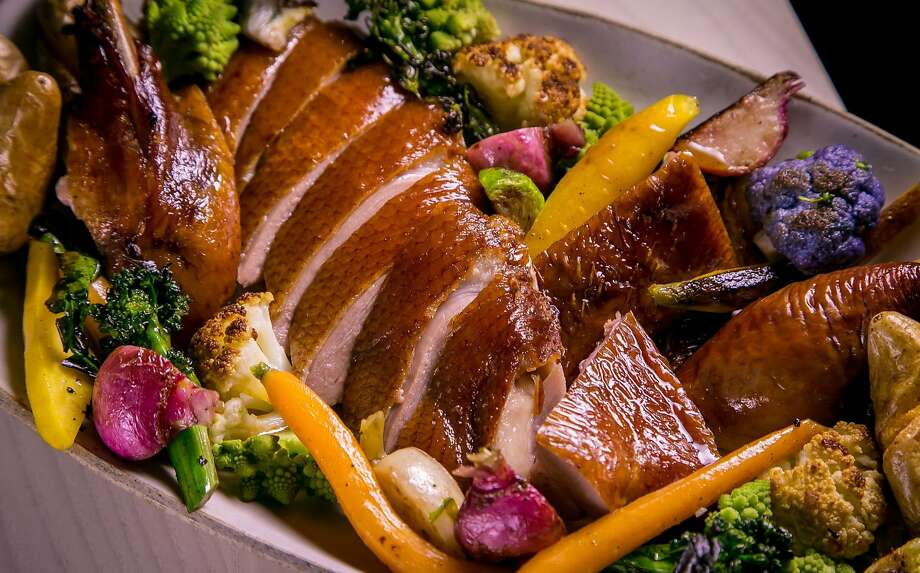 Smoked duck at the Morris. Photo: John Storey, Special To The Chronicle