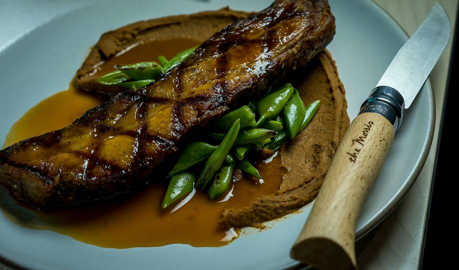 The grilled Berkshire Pork at the Morris in San Francisco, Calif. is seen on December 2nd, 2016. Photo: John Storey, Special To The Chronicle