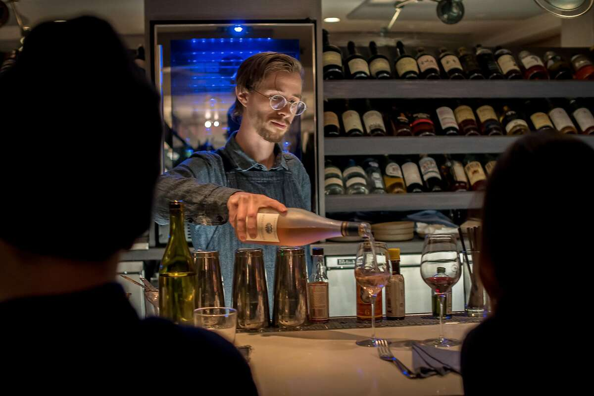 Bay Area eateries that made America's 100 best wine restaurants list The Morris Cuisine: AmericanFind them: 2501 Mariposa St. (415) 612-8480, themorris-sf.comBefore Paul Einbund, owner and sommelier of The Morris, opened up shop, he had been collecting wines for his restaurant for about five years, the Chronicle'sSarah Fritsche wrote. The restaurant's wine menu is more than 50 pages long and made up of old world wines that age well.The Morris was featured in the Chronicle's 100 Top Restaurants for 2018.