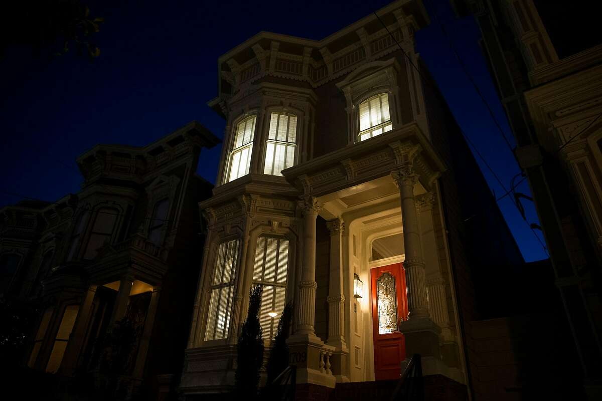 """The property used in the sitcoms """"Full House"""" and """"Fuller House"""" as the home of the fictional Tanner family is seen in San Francisco, Calif., on Friday, December 2, 2016. """"Full House"""" creator Jeff Franklin recently purchased the property."""