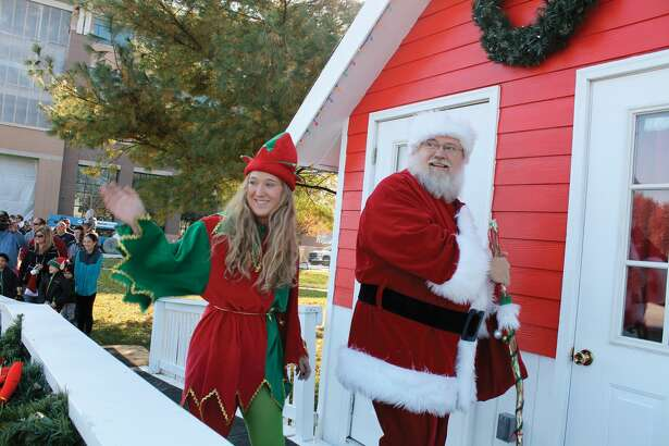 Santa will be at City Park until Saturday, Dec. 23.