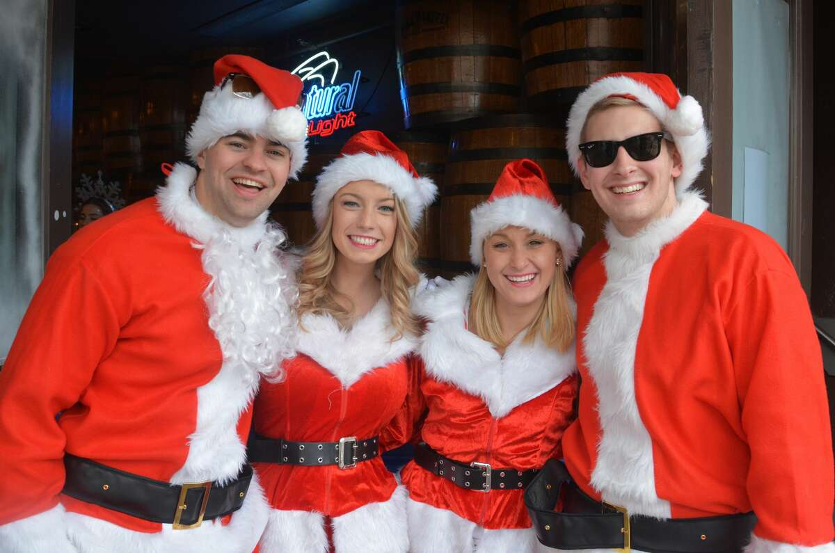 Droves of Santas descended on the streets of Stamford for the annual SantaCon pub crawl on December 3, 2016. Revelers dressed in holiday garb took advantage of drink specials at participating Bedford Avenue bars. Were you SEEN?